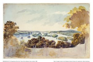 Latrove's View of the River painting